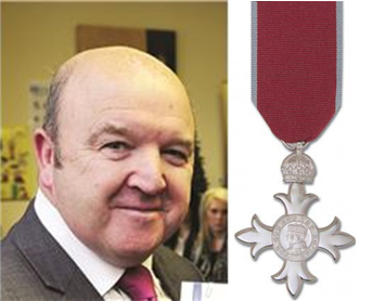 CEO awarded MBE in New Years Honours