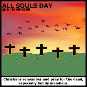 ALL SOULS DAY - 2ND NOVEMBER 2017